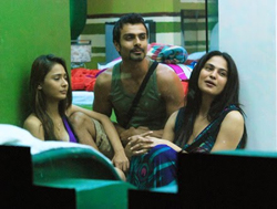 Friends and foes in the Bigg Boss House