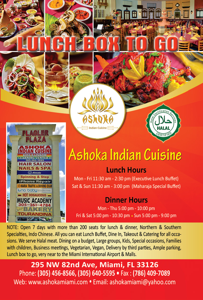 Ashoka indian cuisine desh videsh for Ashoka cuisine of india