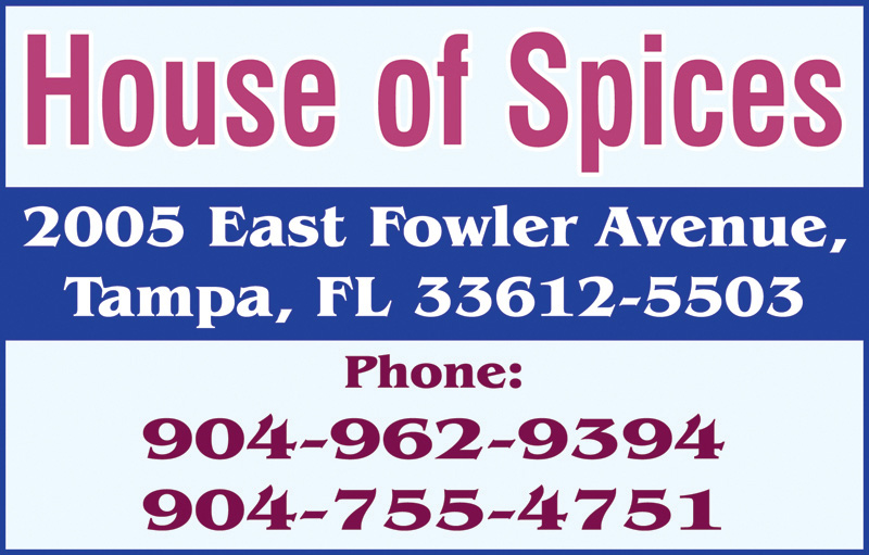 House Of Spices - Tampa
