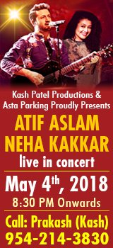 Neha kakkar and Atif Aslam Live in Concert