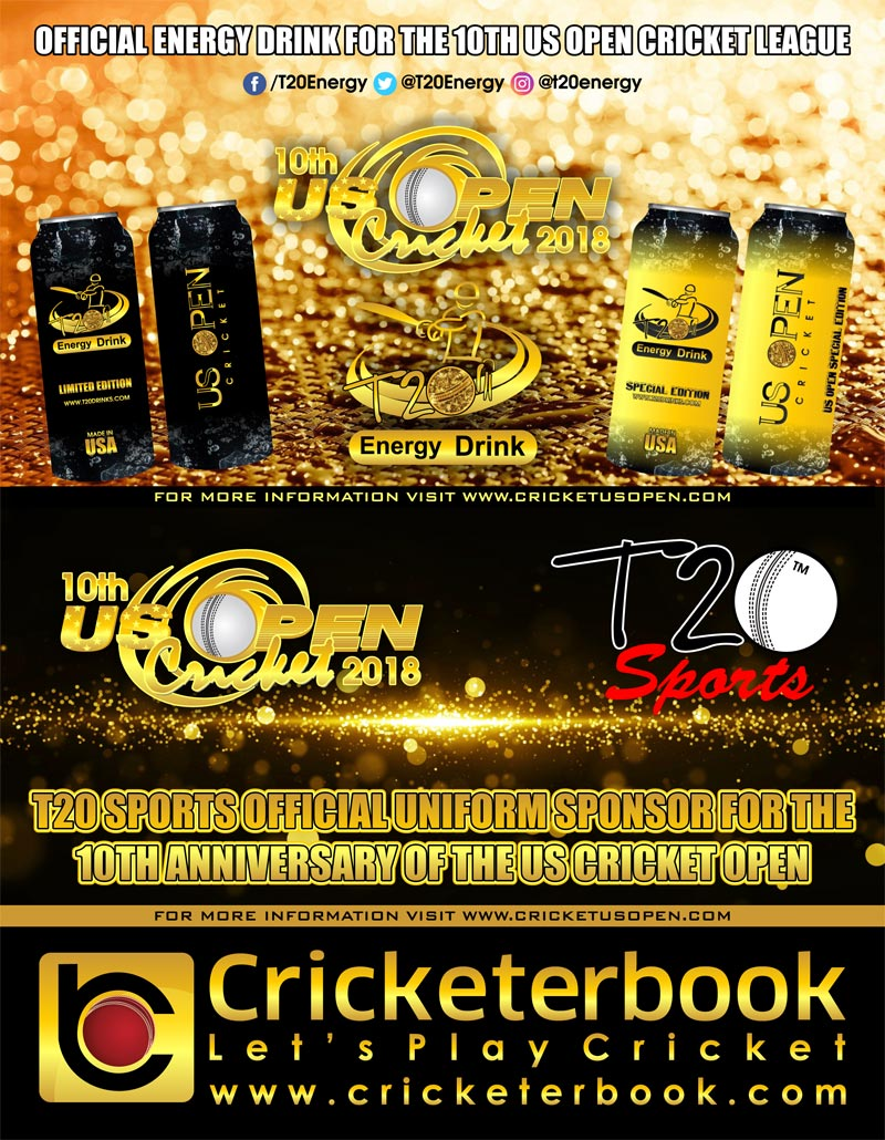 10th US Open Cricket 2018