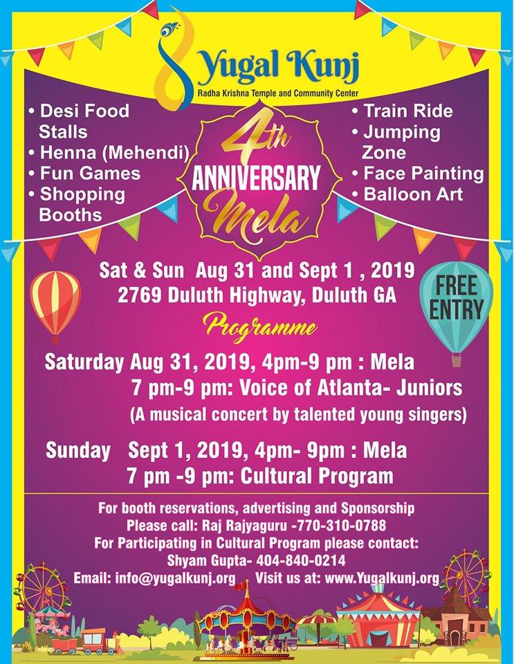 4th Anniversary Mela Celebrations