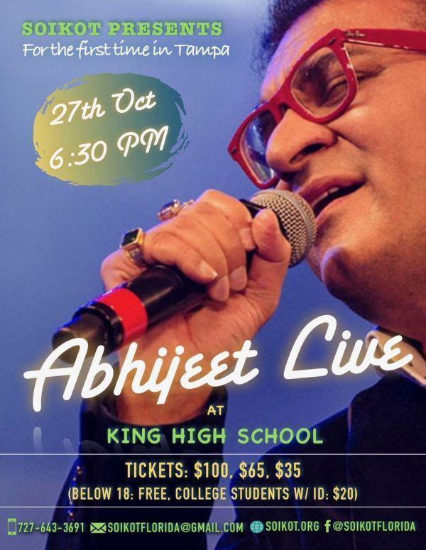 Abhijeet Live at Tampa