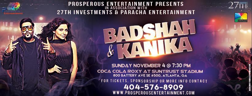 Badshah & Kanika Concert