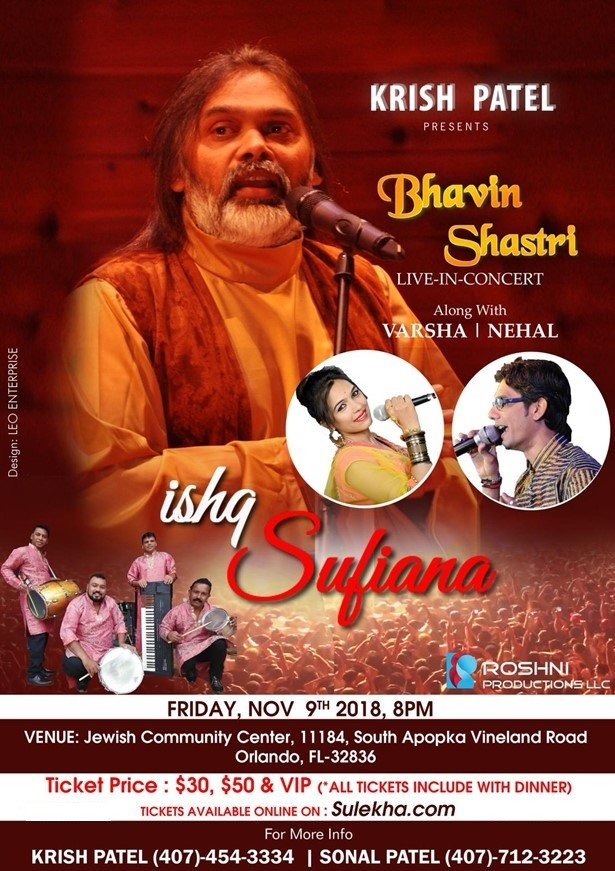 Bhavin Shastri live in Concert