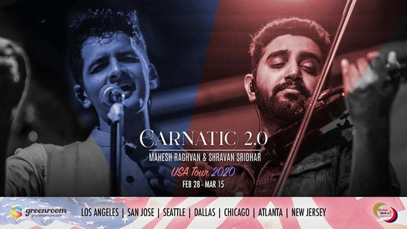 Carnatic 2.0 Live in Atlanta