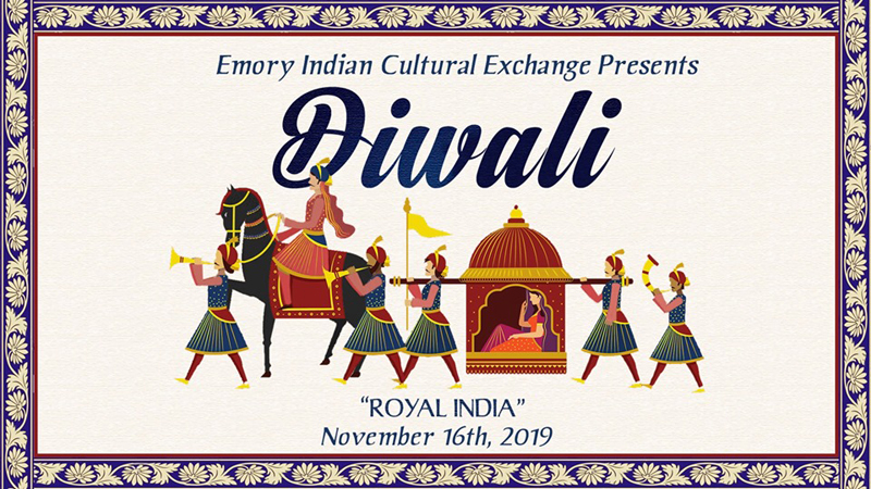 Diwali 2019: Royal India in Atlanta Hosted by Emory Indian Cultural Exchange