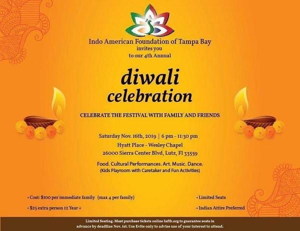Diwali Celebration in Lutz