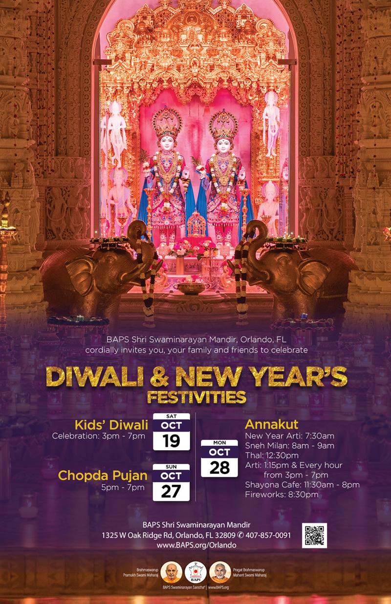 Diwali & New Year's Festivities