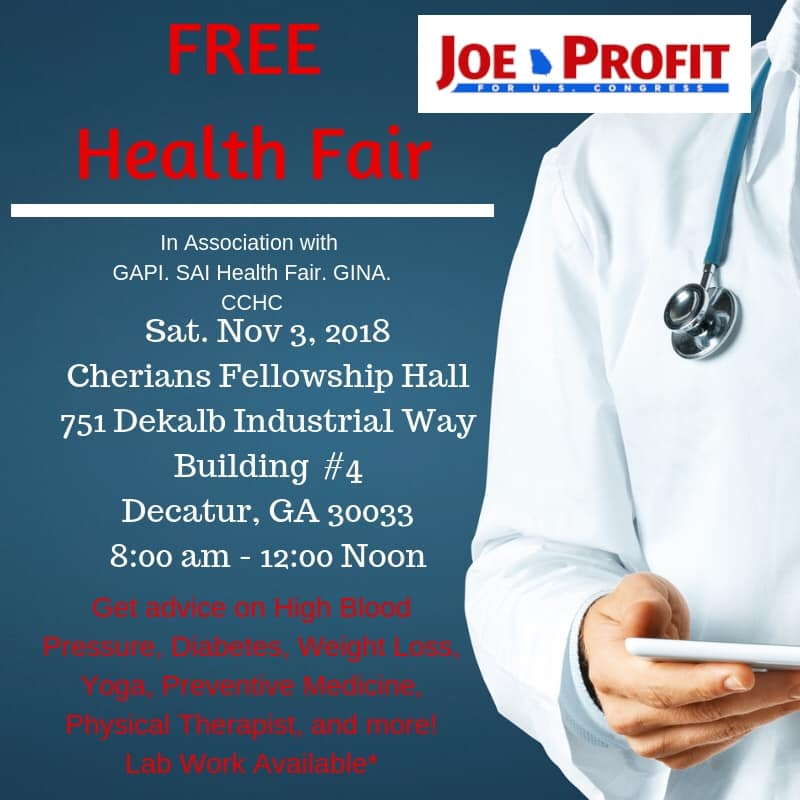 Free Community Health Fair