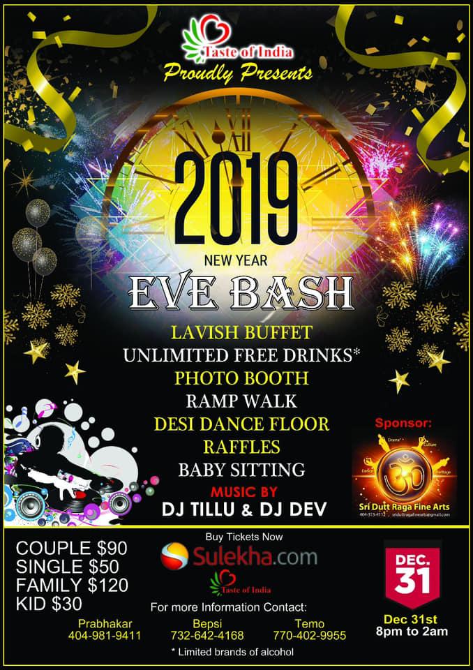 2019 New Year Bash