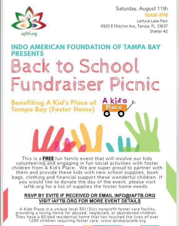 Back to School Fundraiser Picnic