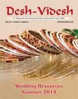 Desh Videsh 2106 - Wedding Resources Summer 2014