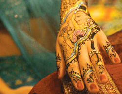 The winner of the 2012 South Florida Mehndi Competition