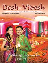 Desh Videsh September 2012 - Cover Story