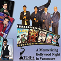 A Mesmerizing bollywood Night In Vancouver