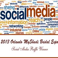 2013 Orlando MyShadi Bridal Expo Social Media Raffle Winner