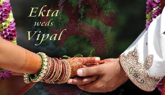 Ekta weds Vipal