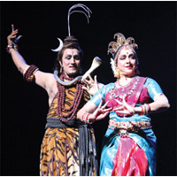 Hema Malini as Durga - A Review By Anita Rao