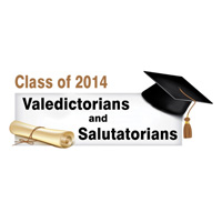 Class of 2014 Valedictorians and Salutatorians