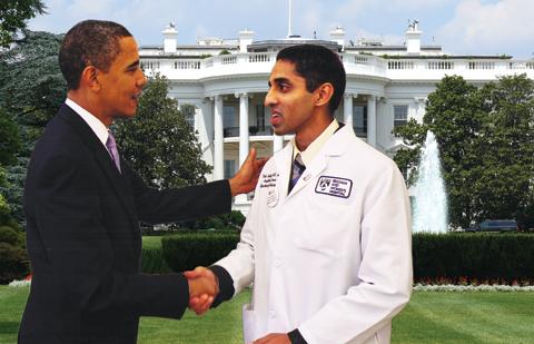 Vivek Murthy With Obama