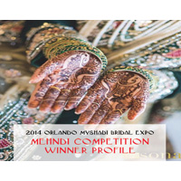 2014 Orlando MyShadi Bridal Expo Mehndi Competition Winner Profile