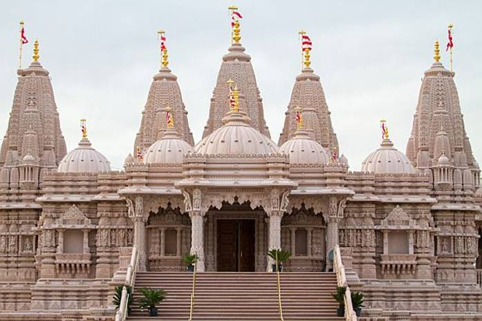 The Swaminarayan Temple in Hollywood