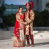 Ami weds Raj