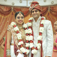 Ankita weds Dhimant