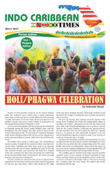 Indo Caribbean Time Holi Celebration