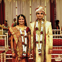 Parita weds Rajdeep