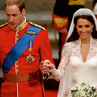 Prince William weds Diana