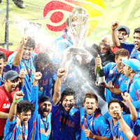 India's Moment of Sporting Glory