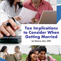 Tax Implications to Consider When Getting Married by Seema Jain, CPA