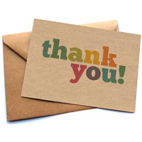 How to: Word Thank You Notes