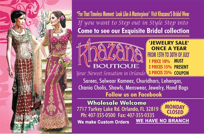 Khazana Boutique - Exquisite Bridal Collection