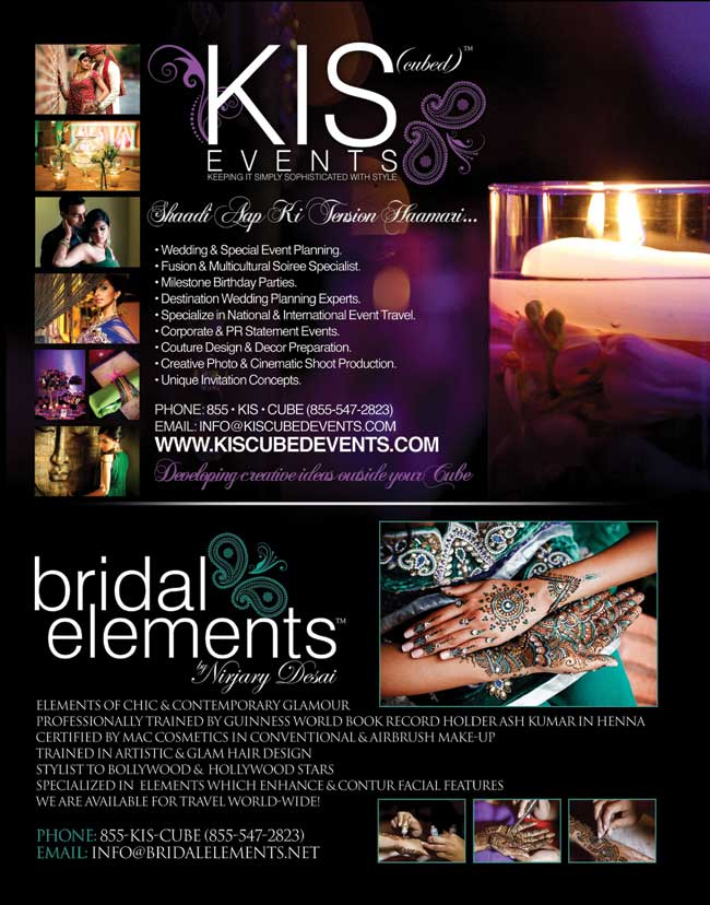 KIS (cubed) Events & Bridal Elements by Nirjary Desai