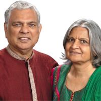 Raj Shah and Rina Shah