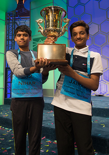 Nihar Janga and Jairam Hathwar