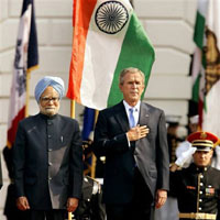 Bush's Passage to India
