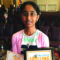 Miami-Dade County Spelling Bee Champ!