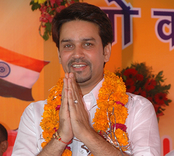Anurag Thakur, As a Member of Parliament
