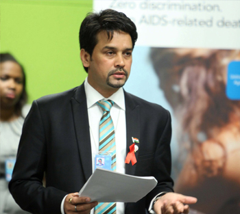 Anurag Thakur, As President of BCCI
