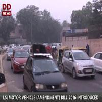 Motor Vehicle (Amendment) Bill introduced in LS