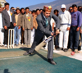 Anurag Thakur, On Cricket