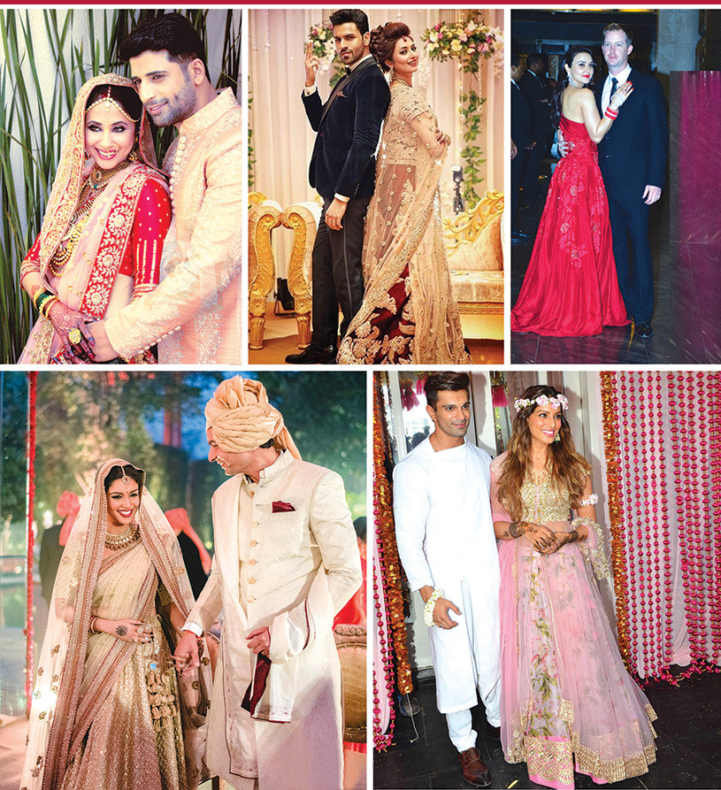 2016's Top Bollywood Weddings
