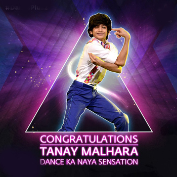 Tanay Malhara wins Dance+ Season 2