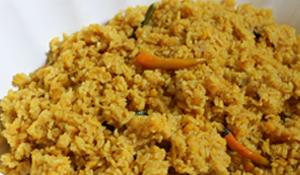 Khichudi, labra and payesh