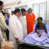 Sum hospital fire: Centre assures Odisha govt off all possible help