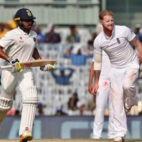 Nair, Ashwin take India's lead past 100 runs